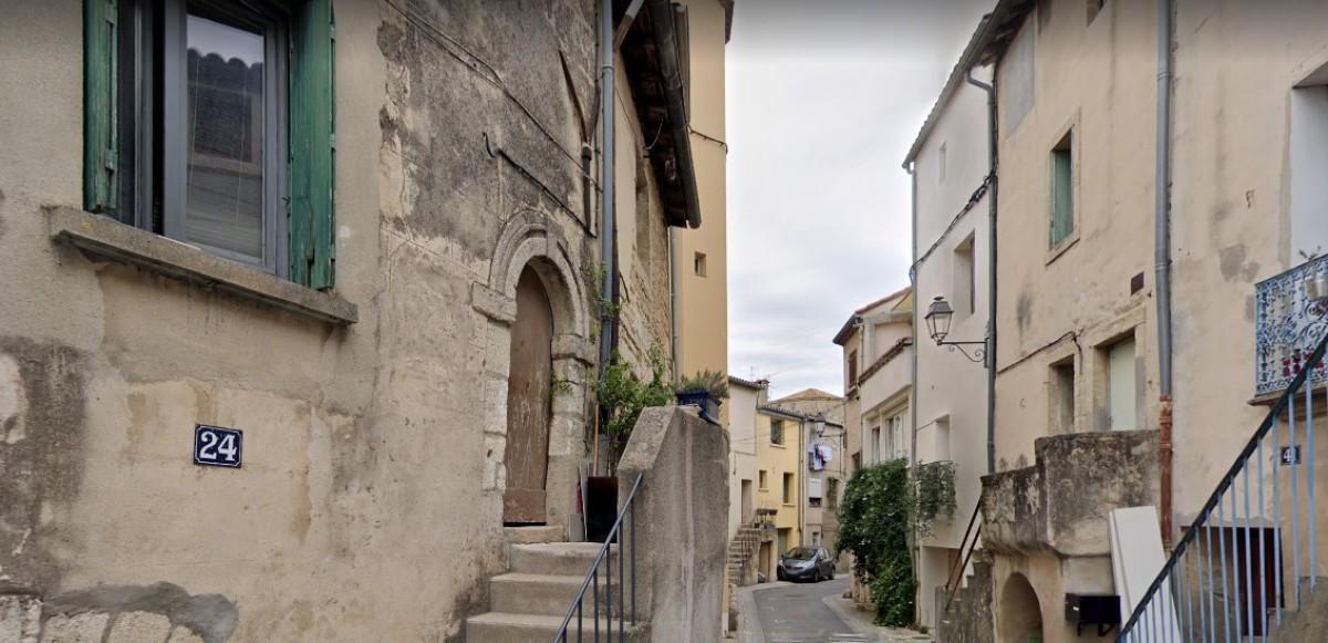 Celleneuve - Vue de la Rue de la Croix