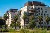 îlot de chaleur urbain à Montpellier – Immeubles neufs dans la ville de Montpellier