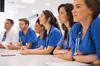 Quartier Hôpitaux-Facultés Montpellier – Etudiants en médecine suivant un cours