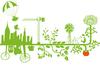 Fab City - vue sur une ville verte et productive