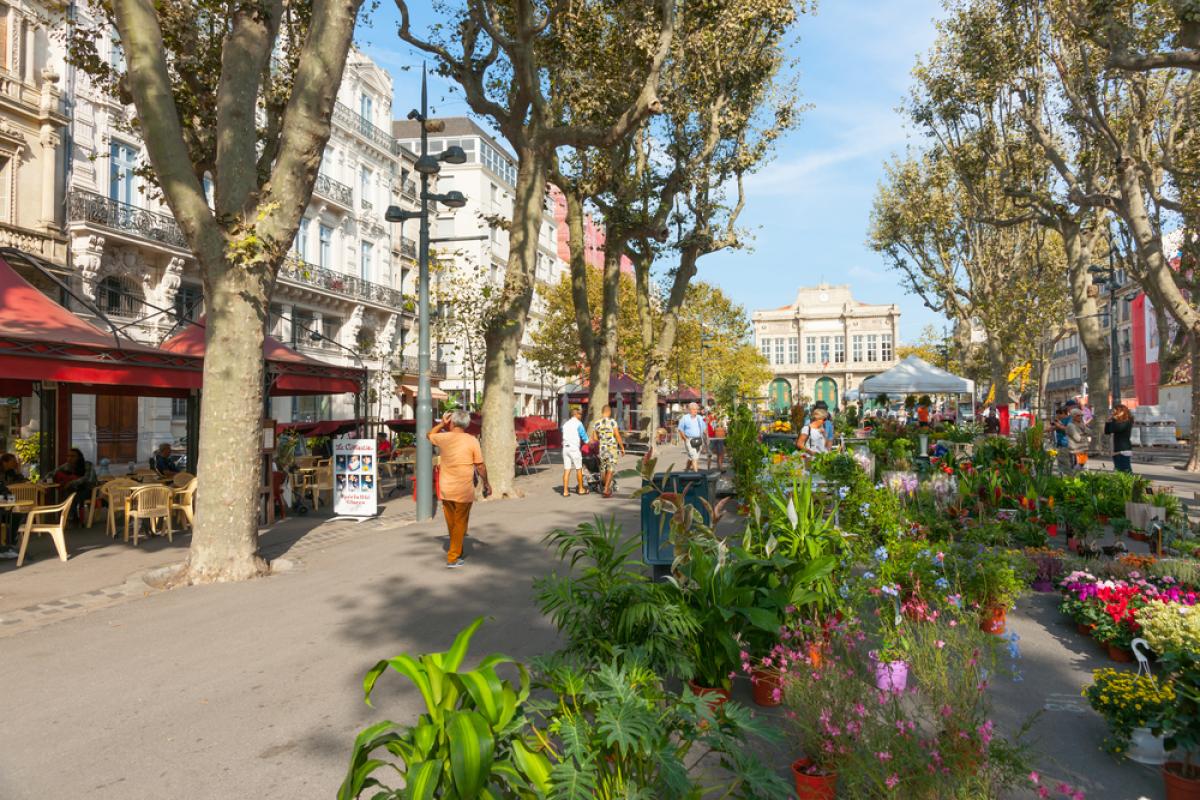 LGV Montpellier-Perpignan - centre-ville de Béziers