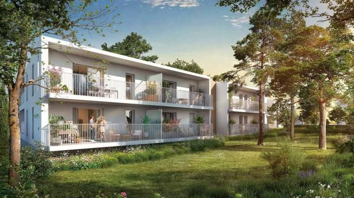 Appartements neufs Les Hôpitaux-Facultés référence 5973 : aperçu n°0