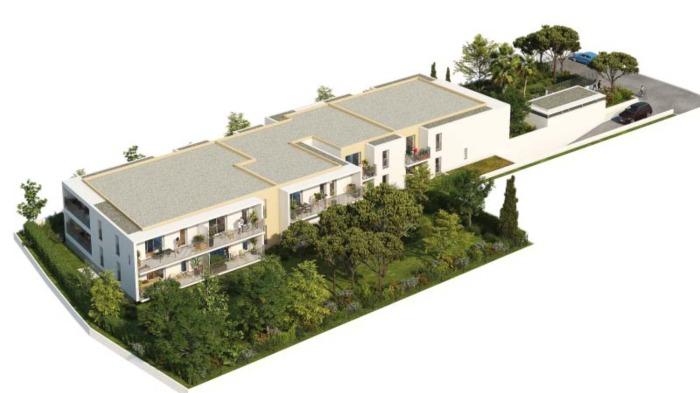 Appartements neufs Les Hôpitaux-Facultés référence 5973 : aperçu n°2