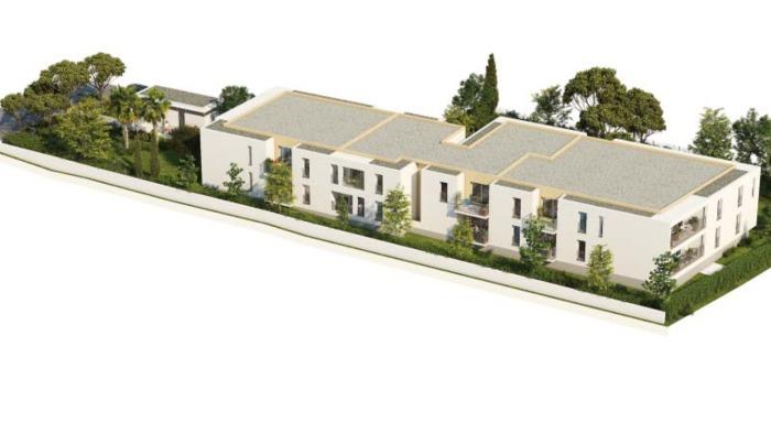 Appartements neufs Les Hôpitaux-Facultés référence 5973 : aperçu n°3