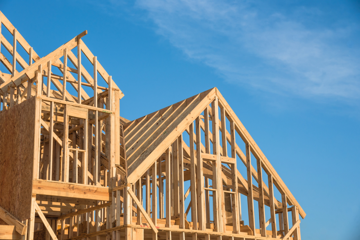 Collège Port Marianne – chantier en construction en bois